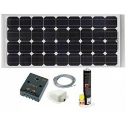 KIT Painel Solar 100W...