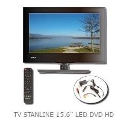 "TV LED HD DVD 15.6 STANLINE"""