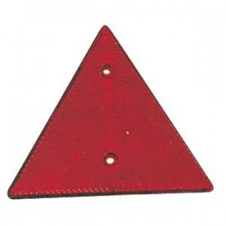 Refletor Triangular Vermelho