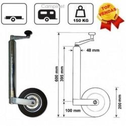 Roda Jockey 48mm Roda 200