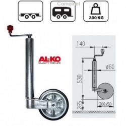 Roda Jockey Al-Ko 60mm Roda...