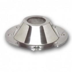 Base Cónica Alumínio P/Tubo