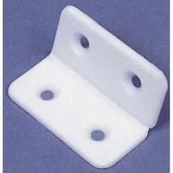 Dobradiça Plástica Branca