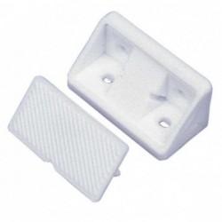 Fixador Móveis Plástico Branco