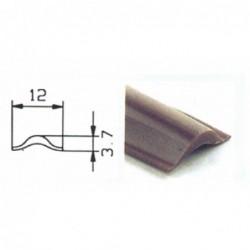 Perfil de Inserção Preto 12mm