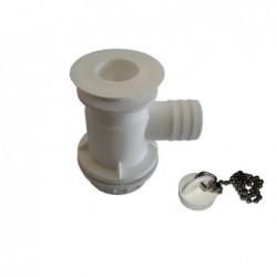 Válvula com Sifão 25 mm