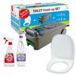 Toilet Fresh-up Set para C400