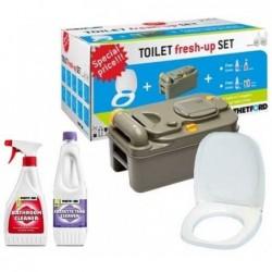 Toilet Fresh-up Set para C200