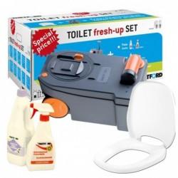 Toilet Fresh-up Set para C250