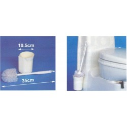 Escova de Sanitas com Copo
